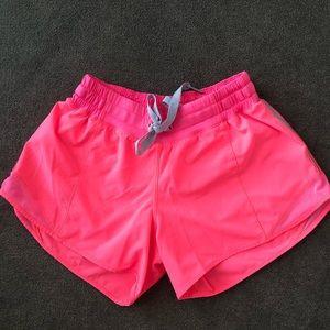 Lululemon running shorts size 4